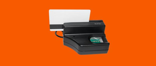 Bioflex - Leitor de Cartão Magnético integrado com Biometria