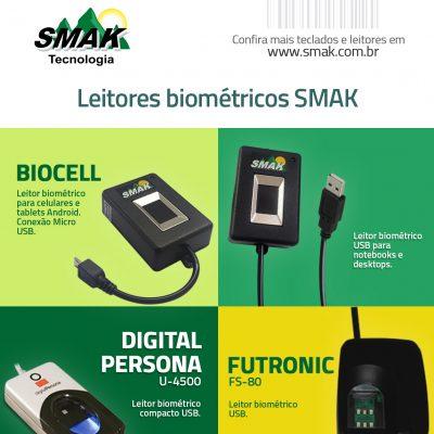 Biocell, DigitalPersona e FS80