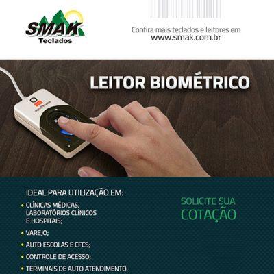 Leitor biométrico Digital Persona