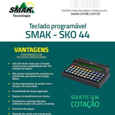 Vantagens Teclado SKO-44 SMAK